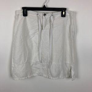 Calvin Klein Jeans Women's Skirt Size 4 White BB12